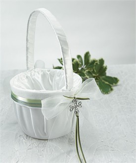 Celtic Charm Flower Girl Basket